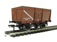 Bachmann Branchline 37-426C 16 Ton slope side mineral wagon pressed side door in MOT brown