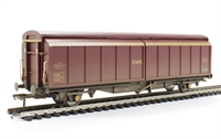 Bachmann Branchline 37-603A 46 Tonne glw VGA sliding wall van in EWS livery - weathered