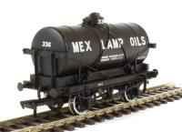 Bachmann Branchline 37-685 14 Ton tank wagon with large filler in Mex Lamp Oils livery