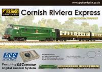 Graham Farish 370-070 Cornish Riviera with Class 42 D829 in BR green and BR Mk1 BCK & SO coaches in chocolate & cream