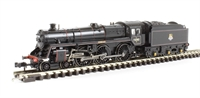 """Graham Farish 372-727^ Standard Class 5MT 4-6-0 73082 """"Camelot"""" in BR lined black with early emblem & BR1B tender"""