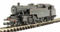 Graham Farish 372-753 Class 4MT Fairburn 2-6-4 tank 42267 in BR black with late crest - weathered