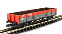 Graham Farish 373-403C OAA 31 ton open plank wagon in Railfreight red & grey