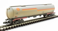Graham Farish 373-555C TEA 100 ton bogie tank wagon in 'Shell' - weathered.
