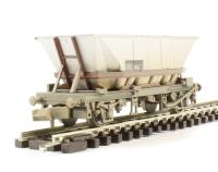 Graham Farish 373-900E 46 Tonne glw HAA Hopper Freight Brown - weathered