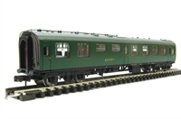 Graham Farish 374-108 Mk1 RMB mini buffet car in green (Blue Riband)