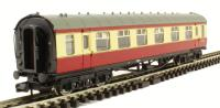 Graham Farish 374-851B Stanier Vestibule Composite BR Crimson & Cream