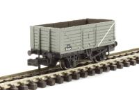 Graham Farish 377-078B 7 Plank End Door Wagon BR Grey