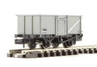 Graham Farish 377-225C 16 Ton Steel Mineral Wagon With Top Flap Doors BR Grey