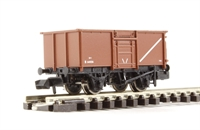 Graham Farish 377-226B 16 Ton Steel Mineral Wagon With Top Flap Doors BR Bauxite