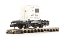 Graham Farish 377-327A Conflat With AF Container GWR White