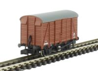Graham Farish 377-427 12 Ton Southern 2+2 Planked Ventilated Van BR Bauxite