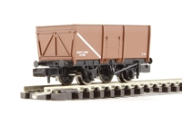 Graham Farish 377-451B 16 Ton Slope Sided Riveted Side Door Mineral Wagon MWT Brown