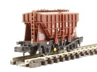 Graham Farish 377-826A 20 Ton Presflo Bulk Powder Wagon 'Crown Cement' Bauxite
