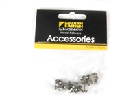 Graham Farish 379-411 Axles with spoked wagon wheels - Pack of 10