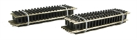 Graham Farish 379-451 Pack of 12 Straight Track 87mm.