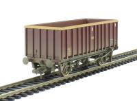 Bachmann Branchline 38-064 45 tonne glw MEA open box wagon in EWS livery - weathered