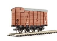 Bachmann Branchline 38-082C 12 ton Southern 2+2 planked ventilated van in BR(S) bauxite