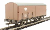 Bachmann Branchline 38-126A 35 Ton VBB box van with sliding door in BR bauxite - weathered