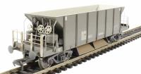 Bachmann Branchline 38-130A 40 Tonne YGH Sealion bogie hopper wagon in olive green - weathered