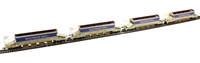 Bachmann Branchline 38-212A Pack of 4 JJA auto ballaster in Railtrack livery with curved top profile (4 per rake with each Generator wagon)