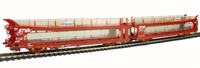 Bachmann Branchline 38-250 IPA twin double deck car transporter in 'STVA' red livery