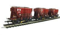 Bachmann Branchline 38-285 Pack of 3 22 ton Presflos in Tunnel Cement livery