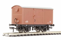 Bachmann Branchline 38-380A^ 12 ton ventilated van with corrugated ends in BR bauxite (early)