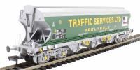 Bachmann Branchline 38-427 Bulk grain bogie hopper in 'Traffic Services Limited' livery
