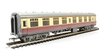 Bachmann Branchline 39-027H BR Mk1 SK Second Corridor (WR) crimson & cream - weathered