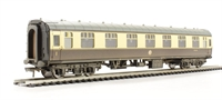 Bachmann Branchline 39-154C BR Mk1 FK First Corridor (WR) chocolate & cream - weathered