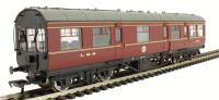 Bachmann Branchline 39-775 LMS 50ft Inspection Saloon in LMS Lined maroon