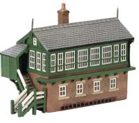 Graham Farish 42-187 Great Central Signal Box (75 x 31 x 54mm)