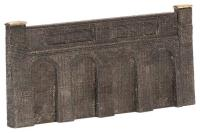 Graham Farish 42-225 Low Relief Retaining Walls (86 x 5 x 44mm)