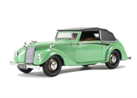 Oxford Diecast 43ASH002 Armstrong Siddeley Hurricane (Closed) Green.