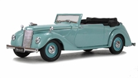 Oxford Diecast 43ASH003 Armstrong Siddeley Hurricane Open Turquoise .