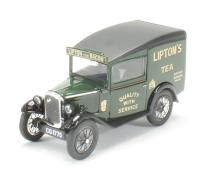 Oxford Diecast 43ASV003 Austin Seven RN Van Liptons Tea