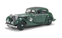 Oxford Diecast 43JSS005 Jaguar SS 2.5 Saloon Suede green