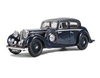 Oxford Diecast 43JSS006 Jaguar SS 2.5 litre Dark Blue