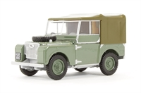 Oxford Diecast 43LAN180001E Land Rover Export version in green