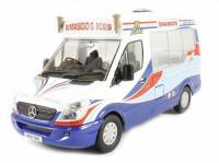 Oxford Diecast 43WM002 Dimachio's Mercedes Ice Cream V