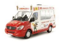 "Oxford Diecast 43WM003 Mercedes Ice Cream Van ""Coronatos Whitby Mondial"""