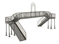 Bachmann Branchline 44-093 Sheffield Park Footbridge (225 x 91 x 108mm)