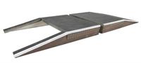 Bachmann Branchline 44-154 2 platform ramps - Great Central style (122 x 165 x 20mm)