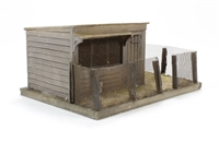 Bachmann Branchline 44-158 Pendon Sunny Side Chicken Coup (91 x 67 x 37mm)