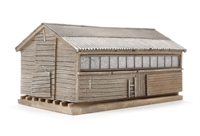 Bachmann Branchline 44-163 Pendon Grotty Large Shed (80 x 47 x 36mm)