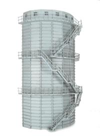 Bachmann Branchline 44-211 Low Relief Gasometer (133 x 66 x 247mm)
