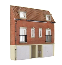 Bachmann Branchline 44-218 Low Relief Modern Town Houses (111 x 18 x 113mm)