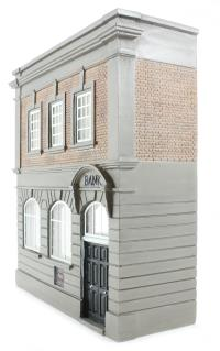 Bachmann Branchline 44-241 Low relief local bank (97 x 38 x 103mm)
