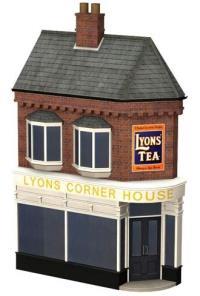 Bachmann Branchline 44-243 Low relief Lyons cornerhouse (66 x 19 x 109mm)